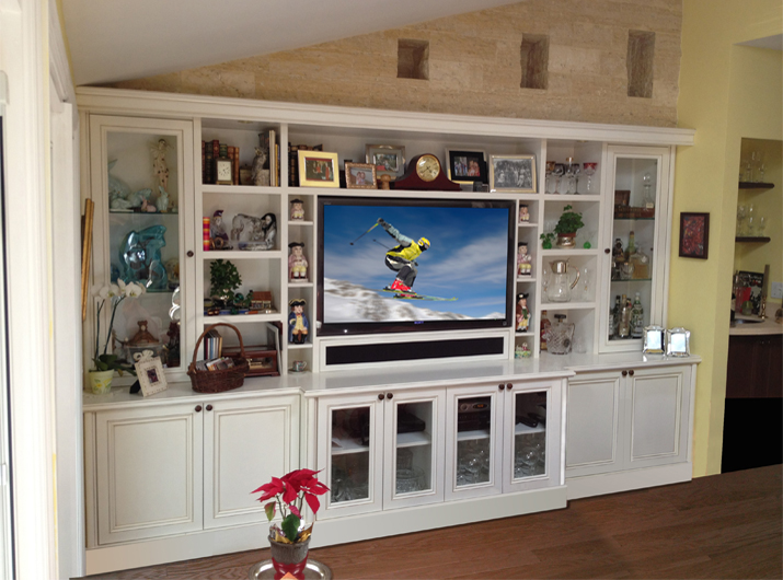 Woodpecker Cabinets Wall Unit Custom Design Wooden Wall Unit ...